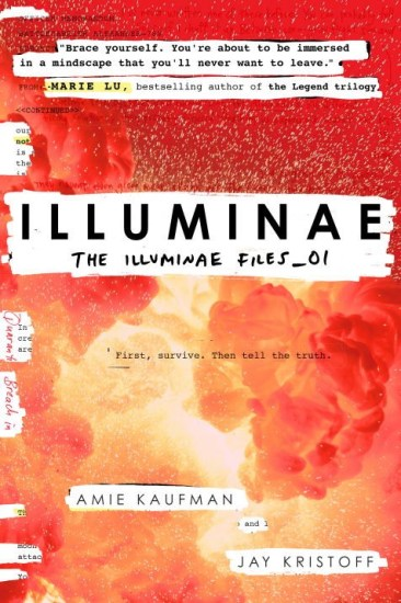 Book Review – Illuminae (The Illuminae Files #1) by Amie Kaufman & Jay Kristoff