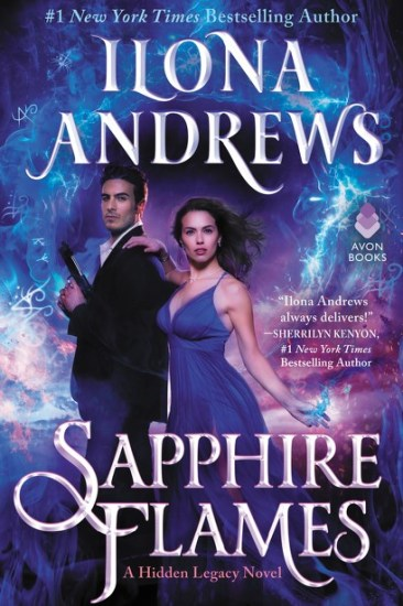 Waiting on Wednesday – Sapphire Flames (Hidden Legacy #4) by Ilona Andrews