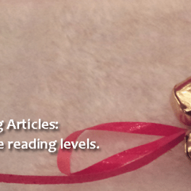"Five Ways to Use ""Bell Ringers"" Leveled Articles"