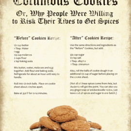 Columbus Day Cookies