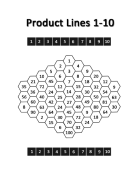 Product Lines Game Board 1-10 (pg. 4)