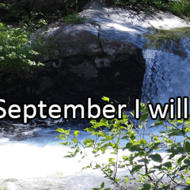 Writing Prompt for September 1: This month