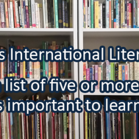 Writing Prompt for September 8: Literacy Day