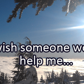 Writing Prompt for December 5: Help