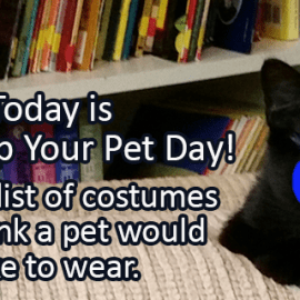 Writing Prompt for January 14: Dress Up Your Pet