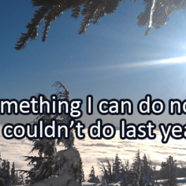 Writing Prompt for February 7: Can Do Now