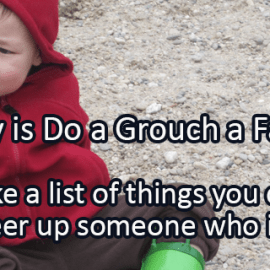 Writing Prompt for February 16: Grouch