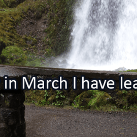 Writing Prompt for March 10: New Learning