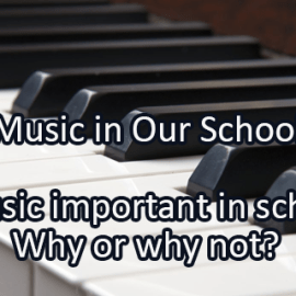 Writing Prompt for March 7: Music in Schools