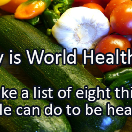 Writing Prompt for Friday, April 7: World Health Day
