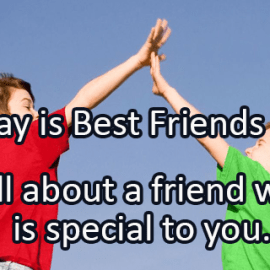 Writing Prompt for June 8: Best Friend
