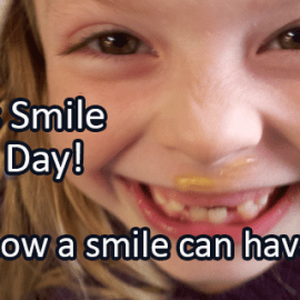 Writing Prompt for June 15: Smile Power!