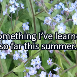 Writing Prompt for July 13: Summer Learning