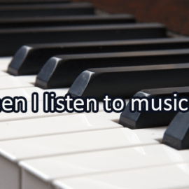 Writing Prompt for July 20: Music