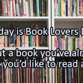 Writing Prompt for August 9: Loving Books