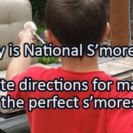 Writing Prompt for August 10: S'mores!