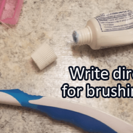 Writing Prompt for October 20: Brush Teeth