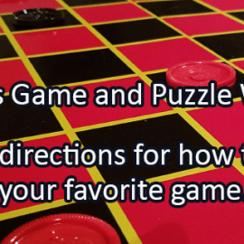 Writing Prompt for November 20: Games and Puzzles