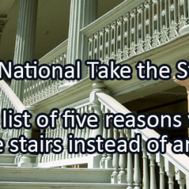 Writing Prompt for January 11: Take the Stairs