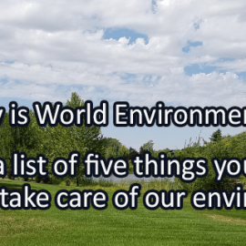 Writing Prompt for June 5: Environment