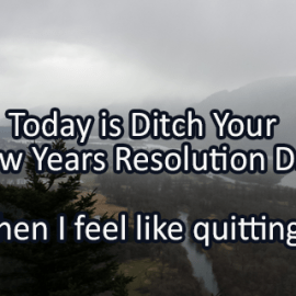 Writing Prompt for January 17: Quitting
