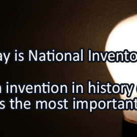 Writing Prompt for February 9: Inventions