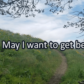 Writing Prompt for May 1: Getting Better