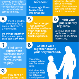Ways a Parent Can Help with Summer Learning