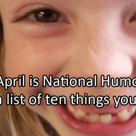 Writing Prompt for April 13: Humor