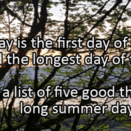 Writing Prompt for June 21: Solstice