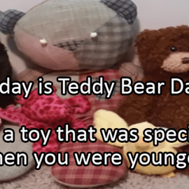 Writing Prompt for September 9: Teddy Bear Day