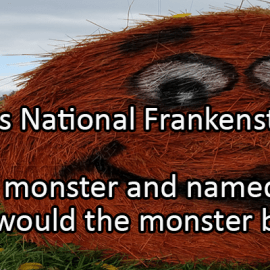 Writing Prompt for October 29: Frankenstein