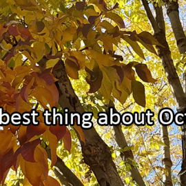 Writing Prompt for October 30: October
