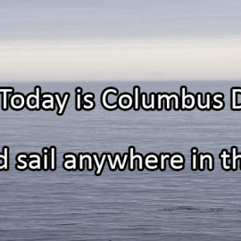 Writing Prompt for October 14: Columbus Day