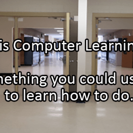 Writing Prompt for October 22: Computer Learning