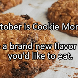 Writing Prompt for October 23: Cookies