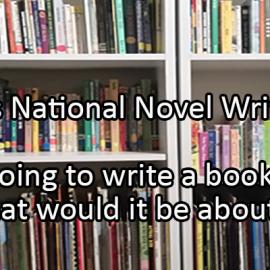 Writing Prompt for November 26: Novel Writing