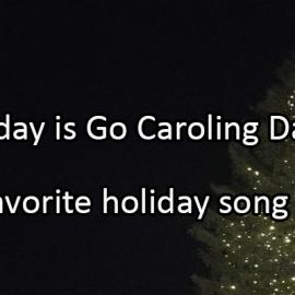 Writing Prompt for December 20: Caroling