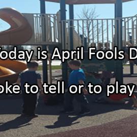 Writing Prompt for April 1: April Fools