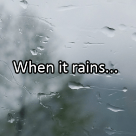 Writing Prompt for April 28: Rain