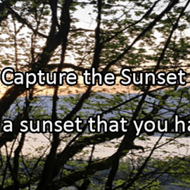 Writing Prompt for July 22: Sunset