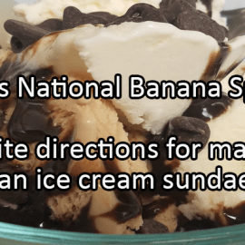 Writing Prompt for August 25: Banana Split