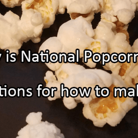 Writing Prompt for January 19: Popcorn