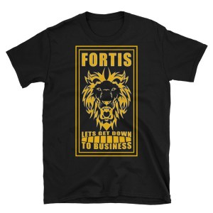 Fortis 'Let's get down to business' Men's T-Shirt