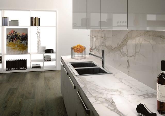Kitchen Tiled Splashback Designs