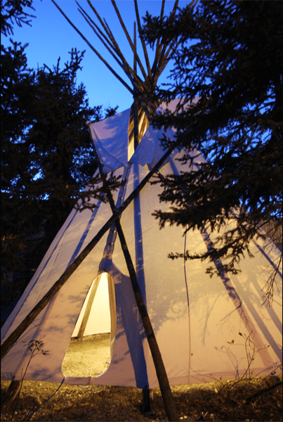 Traditional 10oz Canvas Tipis For Sale Fort Mcpherson Tent