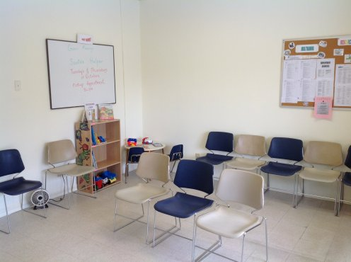 FMCC new location Waiting Room