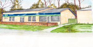 Rendering of new Fort Mill Care Center location