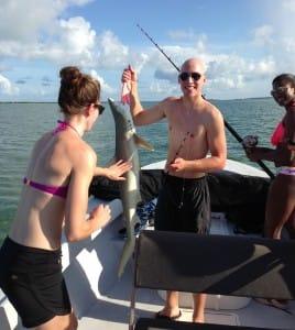 Shark, Sanibel, June 28, Fort Myers Fishing Charters & Fort Myers Fishing Report.