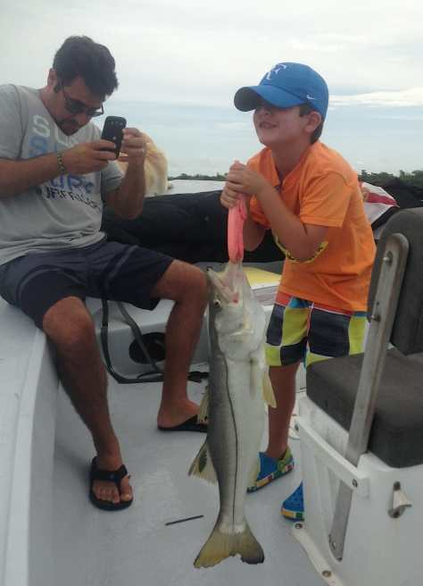 Snook, Roosevelt Channel, July 6, Fort Myers Fishing Charters & Fort Myers Fishing Report.